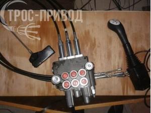 Троси керування гідросистемою підйому робочого органа автогрейдера